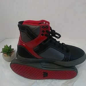 Supra Red and Black